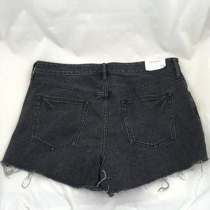 3798c4bea8 PacSun Shorts   Distressed Jean Black Gray Frayed Cut Offs   Poshmark